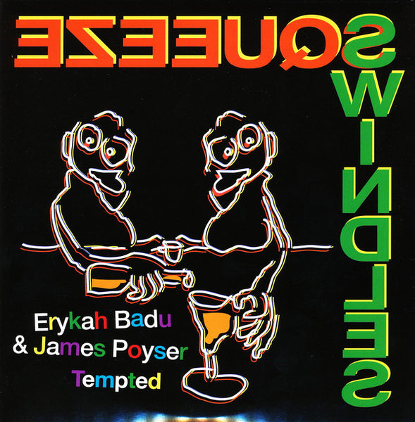 "Erykah Badu & James Poyser ‎– Tempted (Vinyl 7"")"