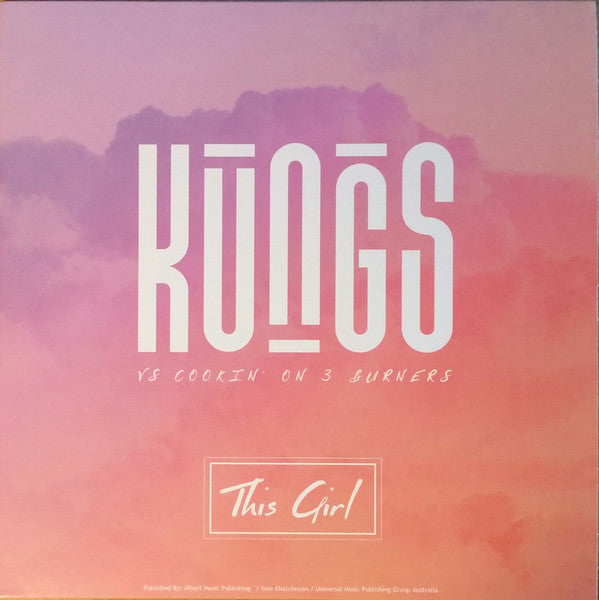 "Kungs vs Cookin' On 3 Burners – This Girl (Vinyl 7"")"