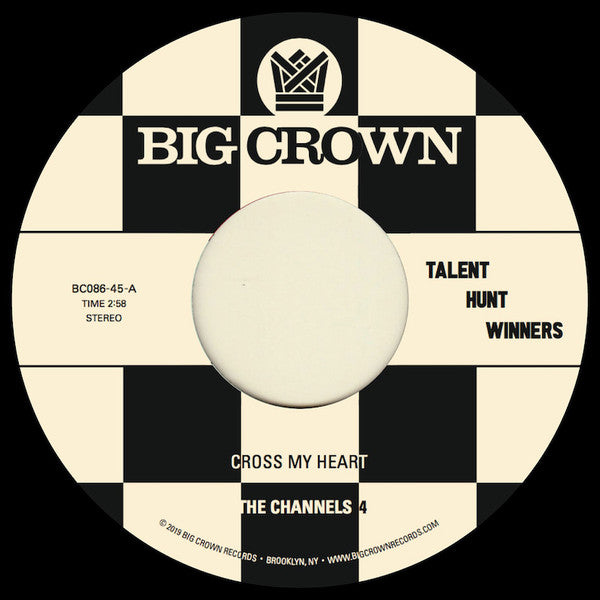 "The Channels 4 / Carla & The Carlettes ‎– Cross My Heart (Vinyl 7"")"