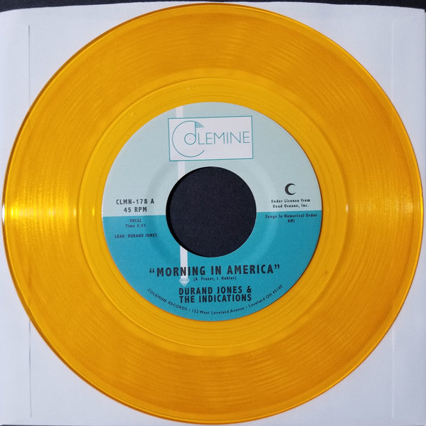 "Durand Jones & The Indications ‎– Morning In America (Vinyl 7"")"
