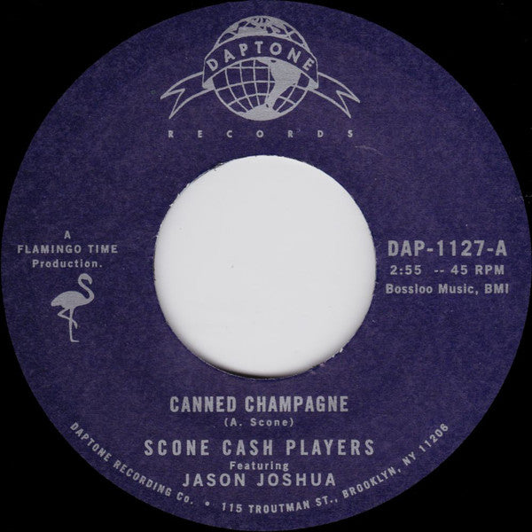 "Scone Cash Players ‎– Canned Champagne (Vinyl 7"")"