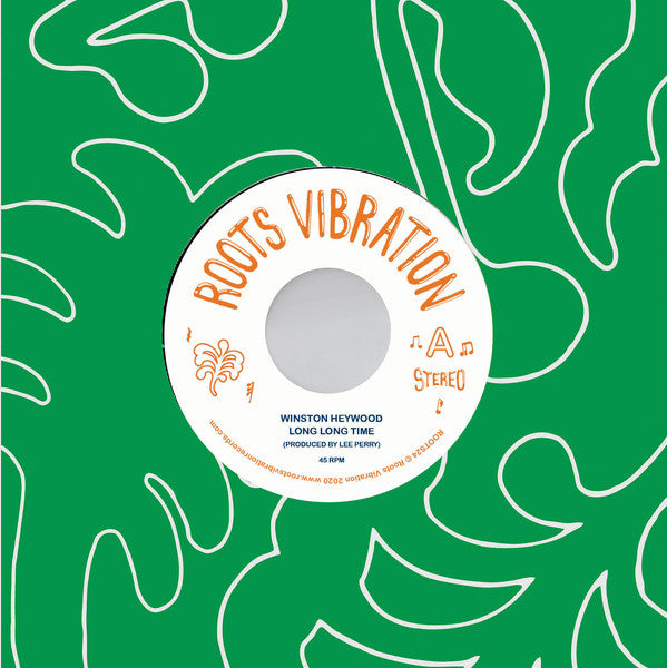 "Winston Heywood / Upsetters ‎– Long Long Time  (Vinyl 7"")"