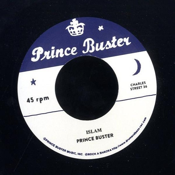 "Prince Buster, Don Drummond ‎– Islam/ Sudden Attack (Vinyl 7"")"