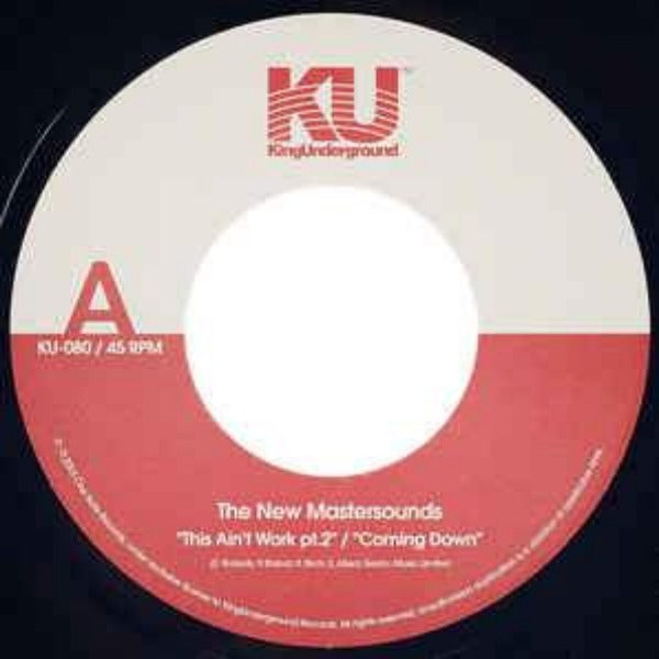 "The New Mastersounds ‎– This Ain't Work Pt 2 (Vinyl 7"")"