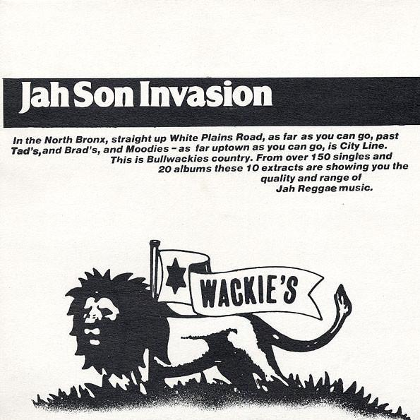 Various – Jah Son Invasion (Vinyl LP)