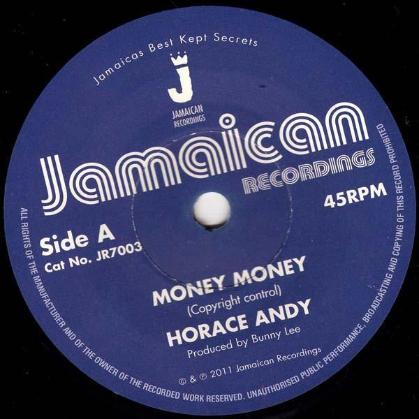 "Horace Andy – Money Money (Vinyl 7"")"