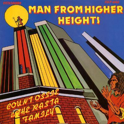 Count Ossie & The Rasta Family - Man From Higher Heights (Vinyl LP) - Rook Records