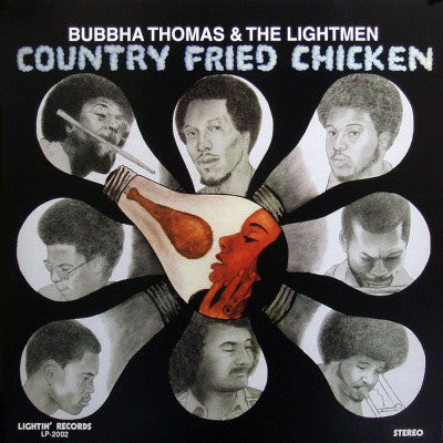 Bubbha Thomas & The Lightmen ‎– Country Fried Chicken (Vinyl LP) [PREORDER]