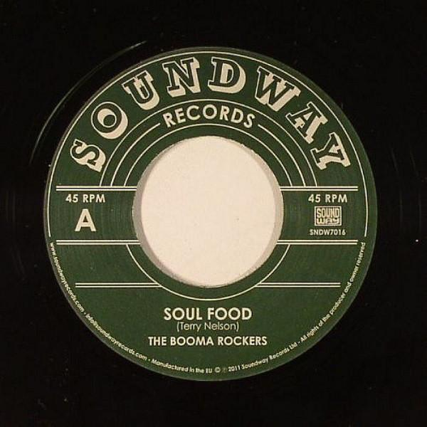 "The Booma Rockers ‎– Soul Food (Vinyl 7"")"