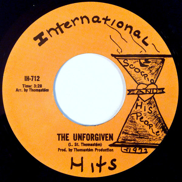 "Scorpio And His People ‎– The Unforgiven (Vinyl 7"")"