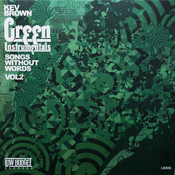 Kev Brown - Green Instrumentals: Songs Without Words Vol. 2 (Vinyl LP) - Rook Records