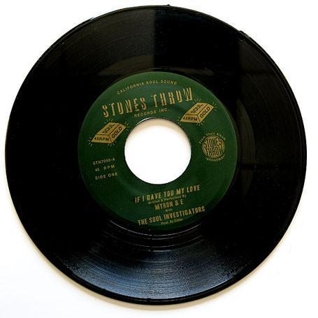 "Myron & E With The Soul Investigators – If I Gave You My Love (Vinyl 7"")"