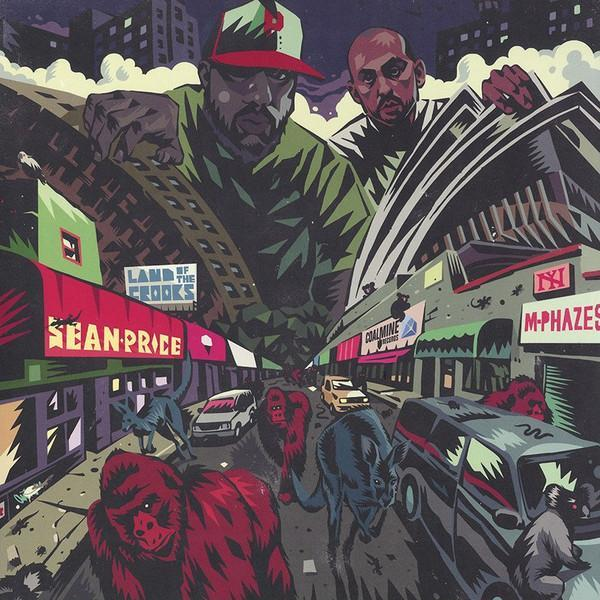 Sean Price & M-Phazes ‎– Land Of The Crooks (Vinyl LP)