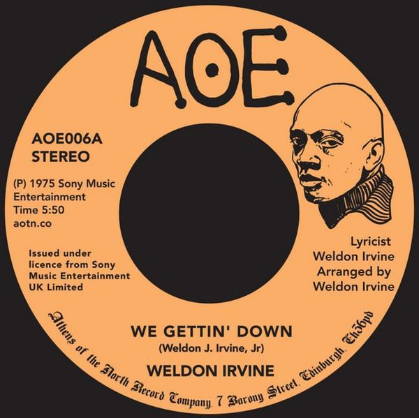 Weldon Irvine - We Gettin' Down (Vinyl 7'')