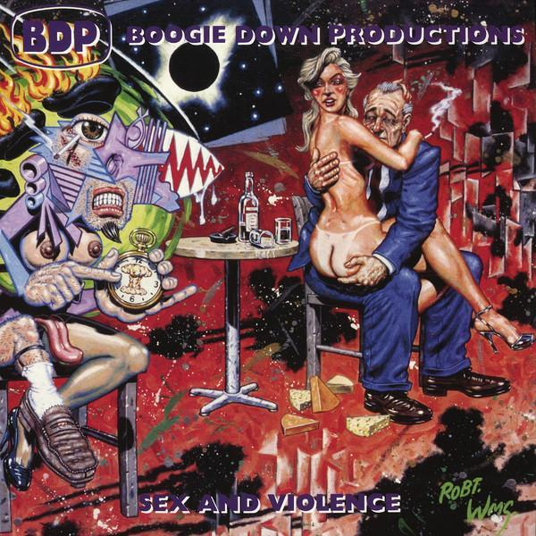 Boogie Down Productions – Sex And Violence (Vinyl 2LP)