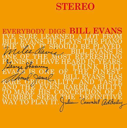 Bill Evans - Everybody Digs (Vinyl LP) - Rook Records