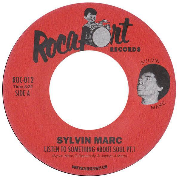Sylvin Marc - Listen To Something About Soul (Vinyl 7'')
