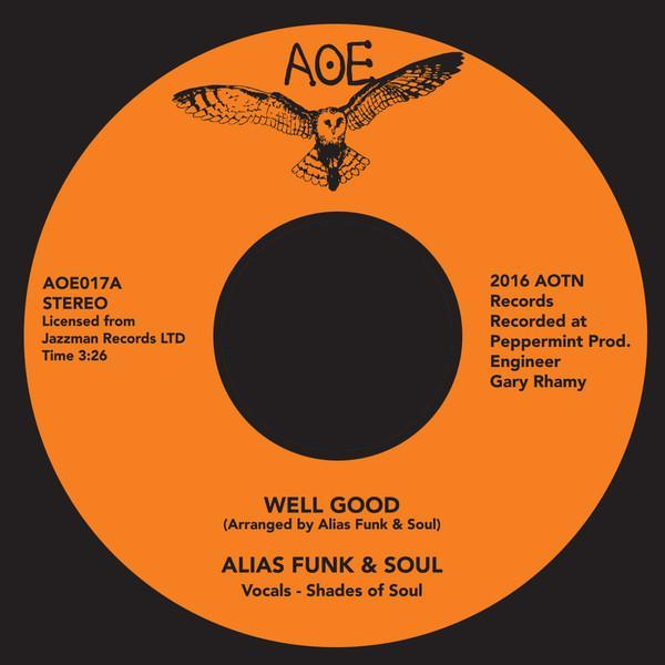 Alias Funk & Soul - Well Good (Vinyl 7'') - Rook Records