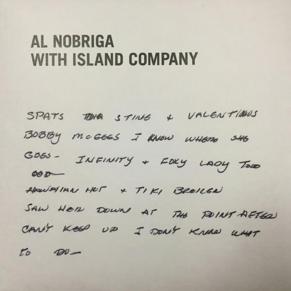 "Al Nobriga With Island Company – My Last Disco Song (Vinyl 7"")"
