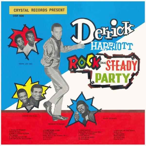 Derrick Harriott – Rock Steady Party (Vinyl LP) - Rook Records
