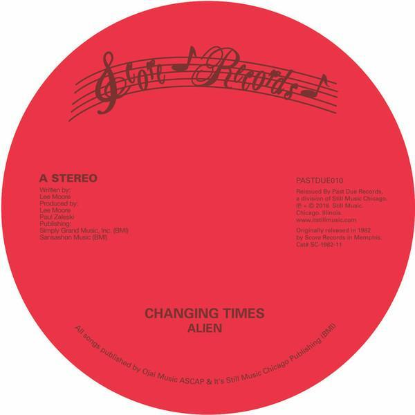 "Alien - Changing Times (Vinyl 12"") - Rook Records"