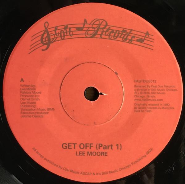 "Lee Moore - Get Off (Vinyl 7"") - Rook Records"