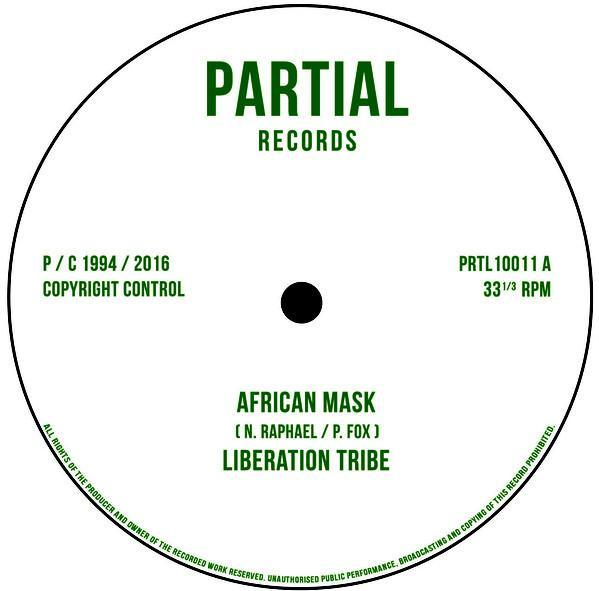 Liberation Tribe/ Paul Fox - African Mask/ Writing On The Wall (Vinyl 10'') - Rook Records