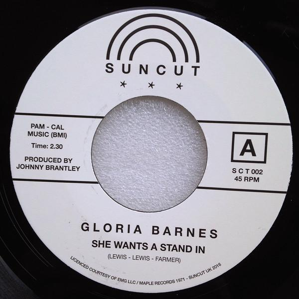 "Gloria Barnes – She Wants A Stand In / You Don't Mean It (Vinyl 7"")"