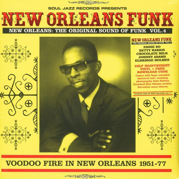 Various – Soul Jazz Records presents New Orleans Funk 4 (Vinyl 2LP)