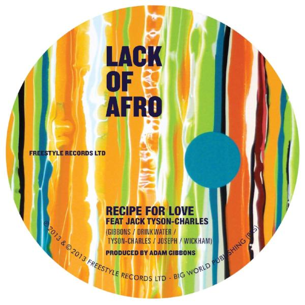 "Lack of Afro - Recipe for Love (Vinyl 7"")"