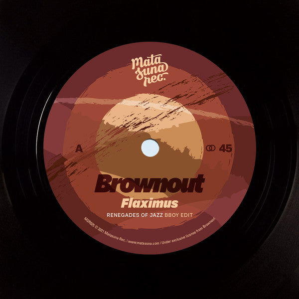 "Brownout, Jungle Fire ‎– Renegades Of Jazz Remixes (Vinyl 7"")"