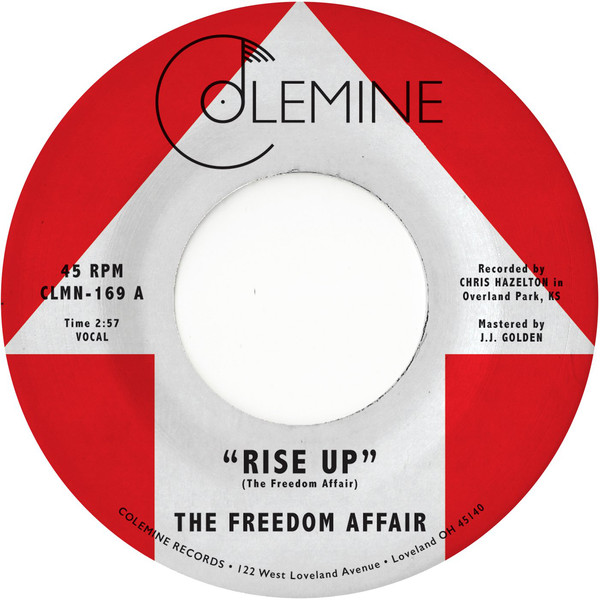 "The Freedom Affair ‎– Rise Up (Vinyl 7"")"
