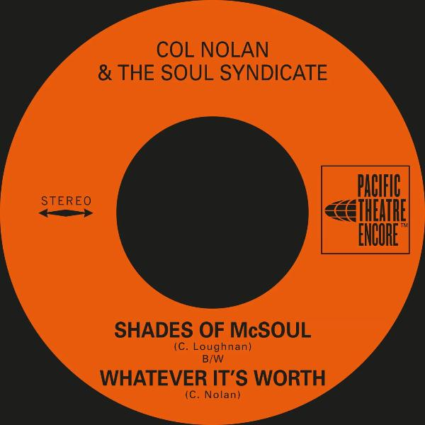 "Col Nolan & The Soul Syndicate - Shades of McSoul (Vinyl 7"")"