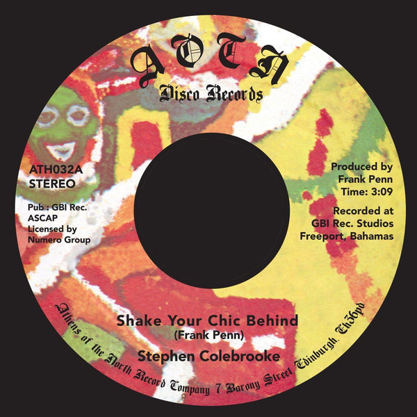 "Stephen Colebrooke – Shake Your Chic Behind (Vinyl 7"")"