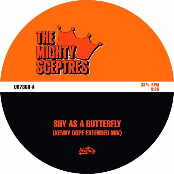 "The Mighty Sceptres - Shy As A Butterfly (Vinyl 7"")"