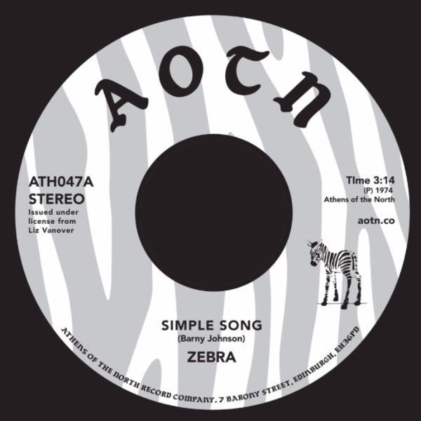 "Zebra ‎– Simple Song (Vinyl 7"")"