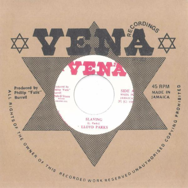 "Lloyd Parks & Vena All Stars – Slaving (Vinyl 7"")"