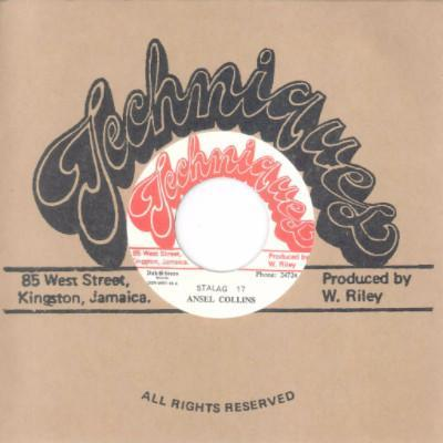 "Ansel Collins / Techniques All Stars – Stalag 17 / Stalag 18 (Vinyl 7"")"