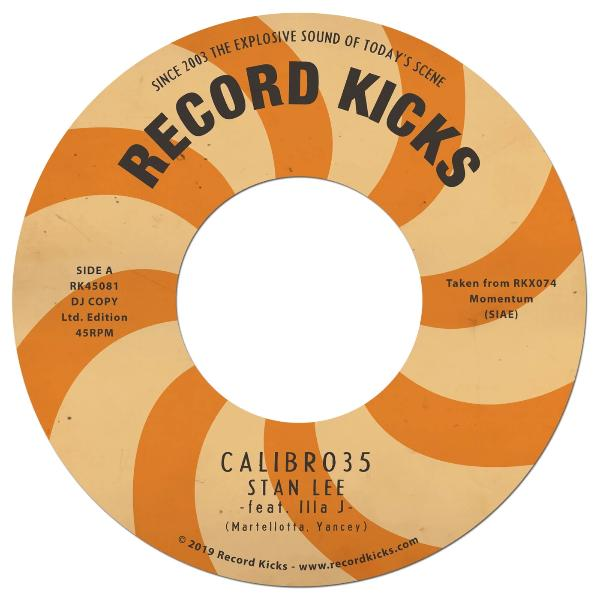 "Calibro 35 - Stan Lee (Vinyl 7"")"