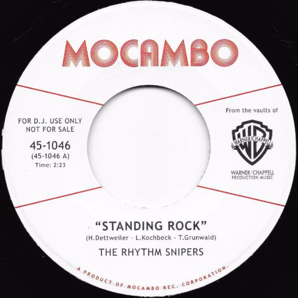 "The Rhythm Snipers ‎– Standing Rock (Vinyl 7"")"
