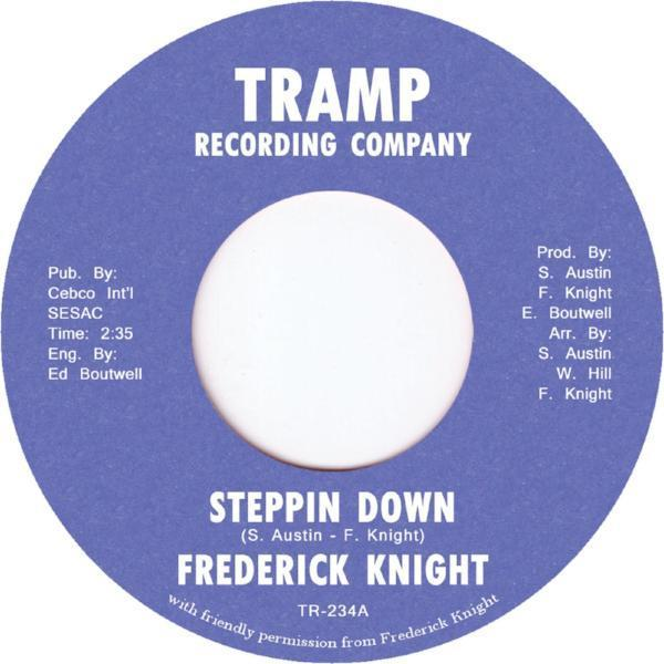 "Frederick Knight - Steppin Down (Vinyl 7"")"