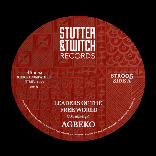 "Agbeko - Leaders Of The Free World (Vinyl 7"")"