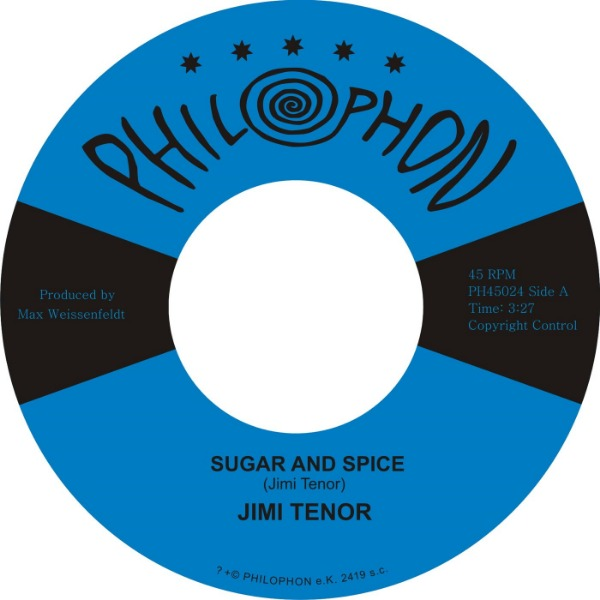 "Jimi Tenor ‎– Sugar And Spice (Vinyl 7"")"