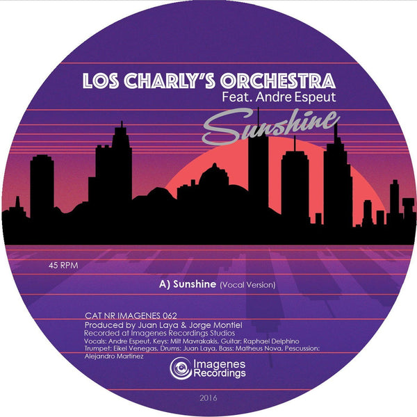 Los Charly's Orchestra ft. Andre Espeut - Sunshine (Vinyl 10'') - Rook Records