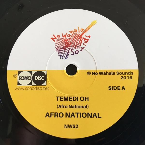 "Afro National ‎– Temedi Oh (Vinyl 7"")"