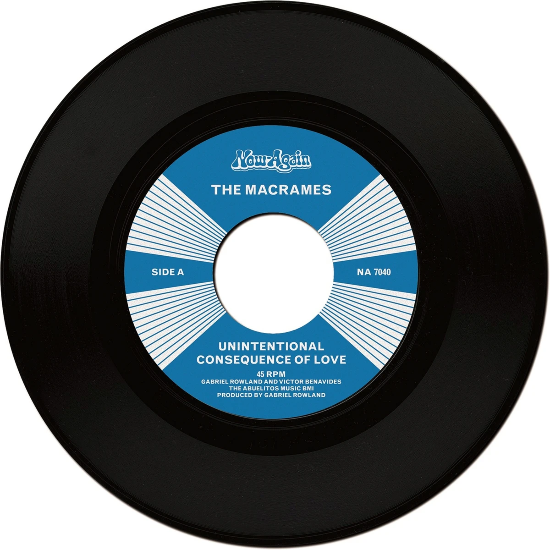 "The Macrames ‎– Unintentional Consequence Of Love (Vinyl 7"")"