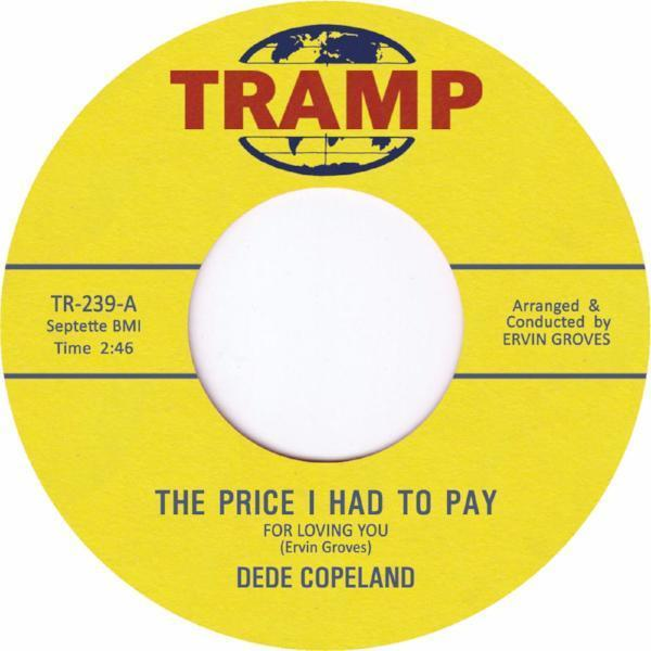 "Dede Copeland ‎– The Price I Had To Pay (Vinyl 7"")"
