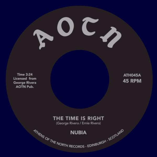 "Nubia ‎– The Time Is Right (Vinyl 7"")"