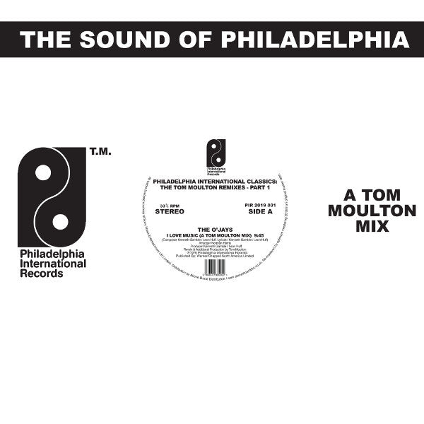 Tom Moulton ‎– Philadelphia International Classics: The Tom Moulton Remixes : Part 1 (Vinyl 2LP)