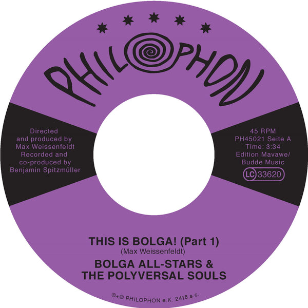 "Polyversal Souls - This Is Bolga! (Vinyl 7"")"